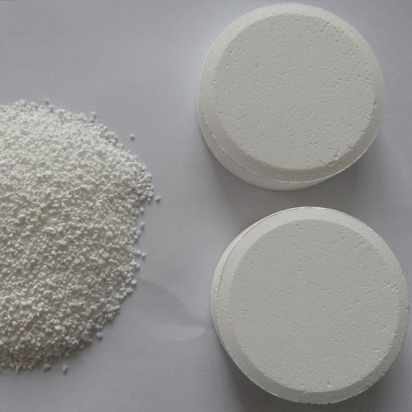 Factory Direct Sales. TCCA Swimming Pool Chemical Trichloroisocyanuric Acid #1 image