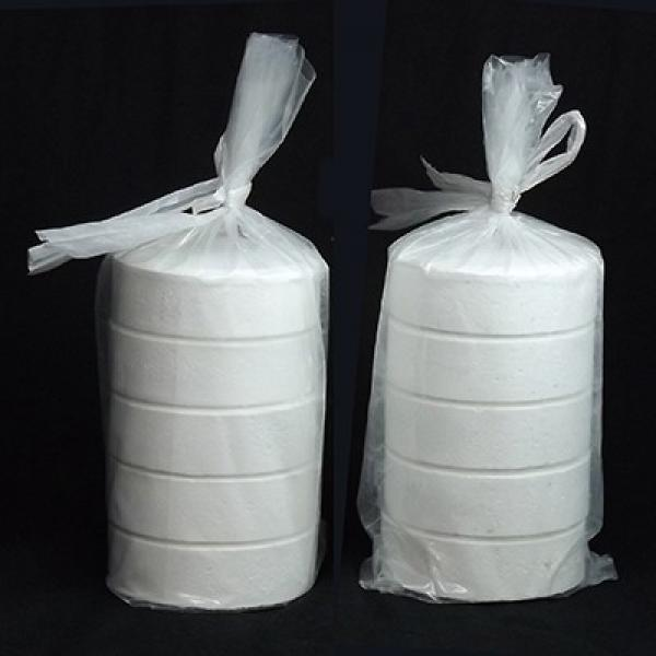 Water Treatment Chemicals Trichloroisocyanuric Acid 90% Swimming Pool Chlorine #1 image