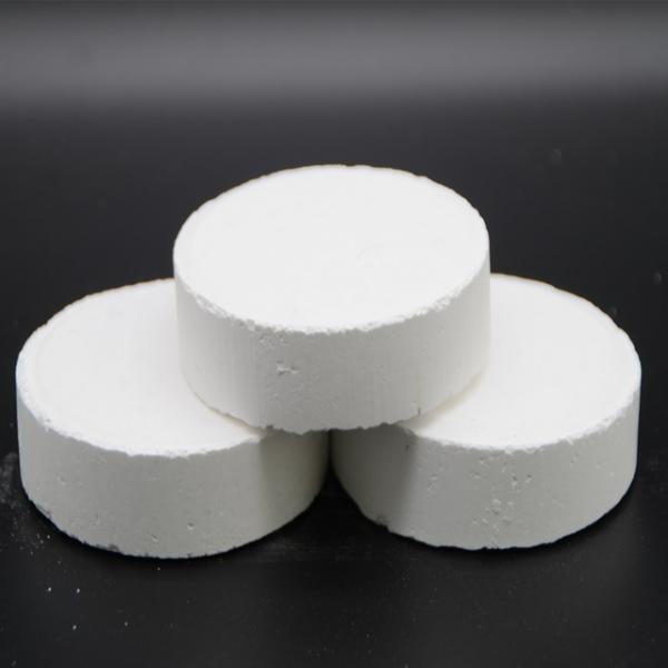 Trichloroisocyanuric Acid TCCA 90% Chlorine Tablets for Swimming Pool Disinfectant #1 image